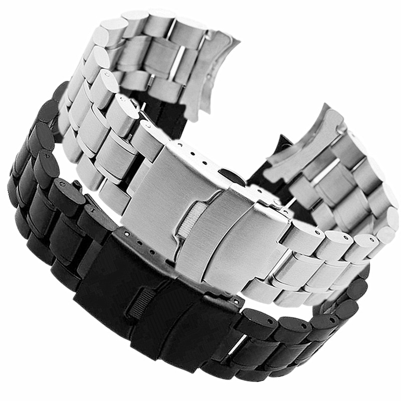Watch Curved Steel Band